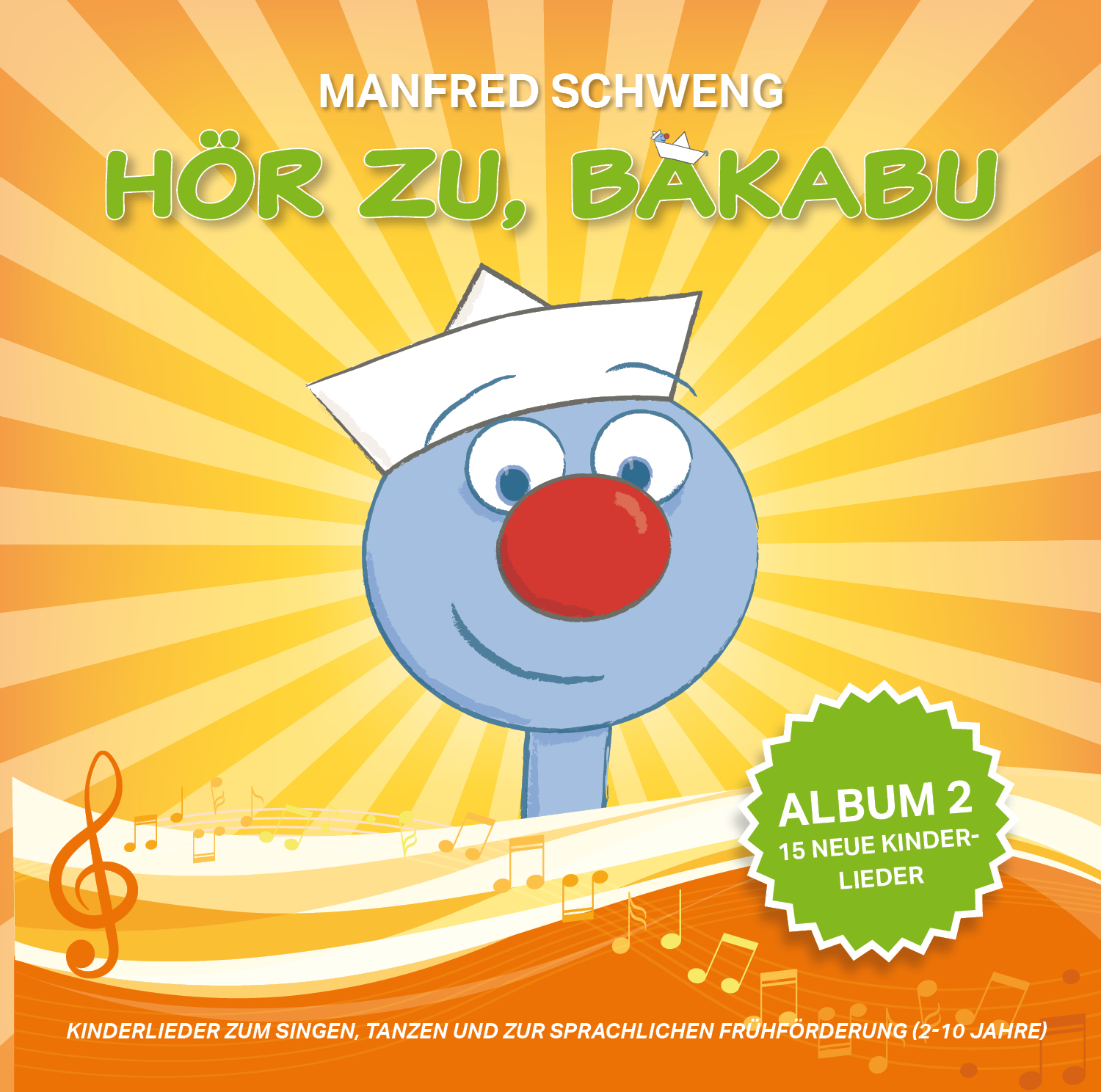 CD Cover Bakabu Album 2